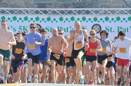 St. Patrick's Day 5K start