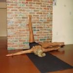 stretch legs up wall