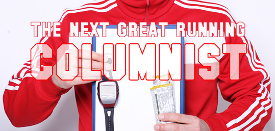 Next Great Running Colunist Logo