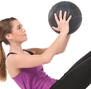 Medicine Ball Core Workout