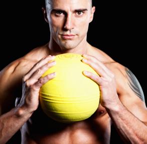 Medicine Ball Leg Strength Training for Runners