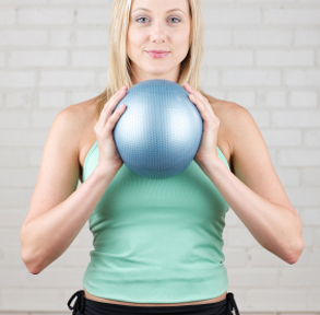 Upper Body Medicine Ball Routine for Runners