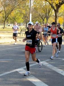 Jen DeCurtins running